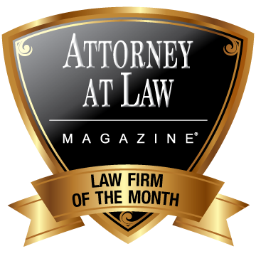 award from Attorney at Law magazine.