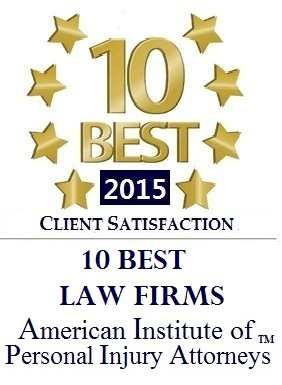 10 Best Law Firms Award - Eagan Car Crash Lawyer